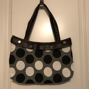 Thirty One Interchangeable Cover Handbag - Brown